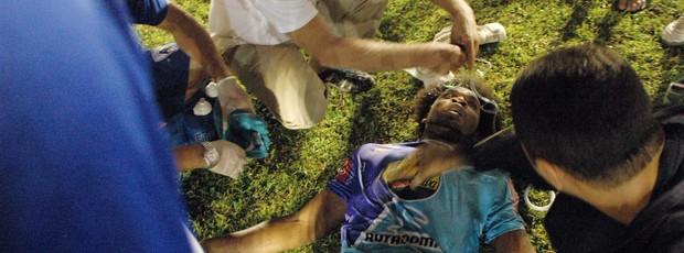 Thales Lima, Atacante do Atlético-PB, Campeonato Paraibano, Paraíba,  (Foto: Richardson Gray / Globoesporte.com/pb)