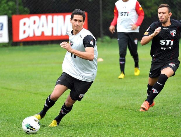 Ganso, treino São Paulo (Foto: João Pires / Vipcomm)