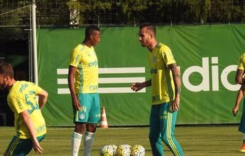 Mina e Leandro Pereira fazem primeiro treino no Palmeiras; veja impressões