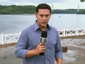 O apresentador Salgado Neto fez grandes reportagens da TV Amapá (Foto: Reprodução/Bem Estar)