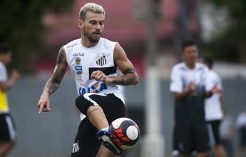 Empresário nega Lucas Lima no Grêmio e fala em renovar com Santos