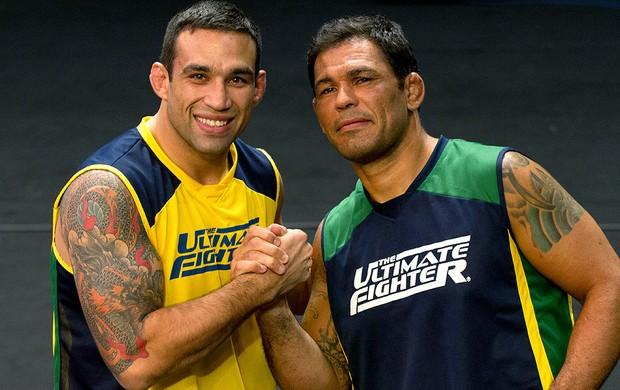 Rodrigo Minotauro e Fabrício Werdum TUF Brasil 2 (Foto: Divulgação)
