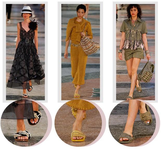 [Moda] Chinelo slip on (Foto: Andr Cherri)