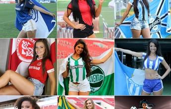 Musa do Gauchão tem novas fotos das oito candidatas nas quartas de final