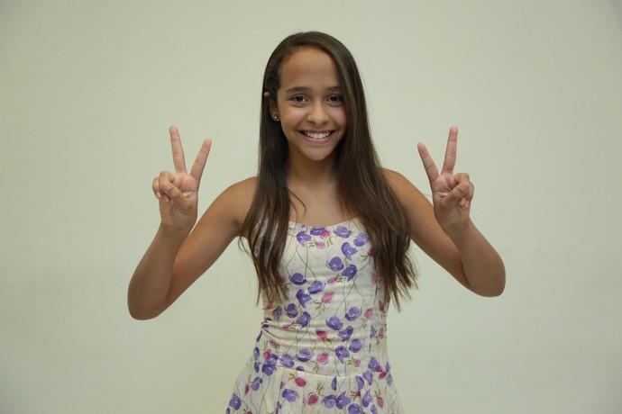Conheça a nova participante do 'The Voice Kids' (Foto: Gshow)