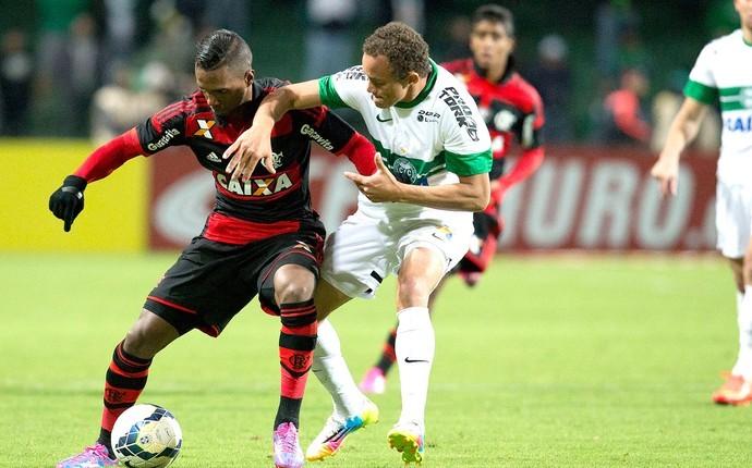 Coritiba abriu uma ótima vantagem na primeira partida contra o Flamengo (Foto: Hedeson Alves/VIPCOMM)