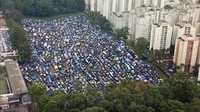 PREP ocupações (Foto: TV Globo)