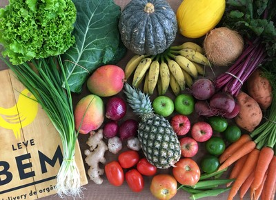 frutas-legumes-organico-organicos-leve-bem-delivery-sp (Foto: Divulgação)