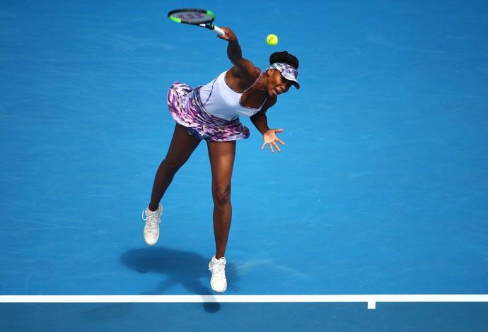 Venus Williams enfrentou a também americana CoCo Vandeweghe na semifinal do Aberto da Austrália (Foto:  Clive Brunskill/Getty Images)