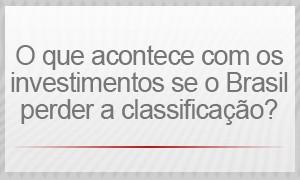 o que acontece com os investimentos se o Brasil perder a classificação? (Foto: G1)