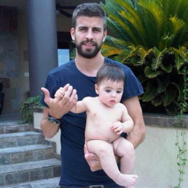 Piquet e o filho (Foto: reprodução do Instagram)