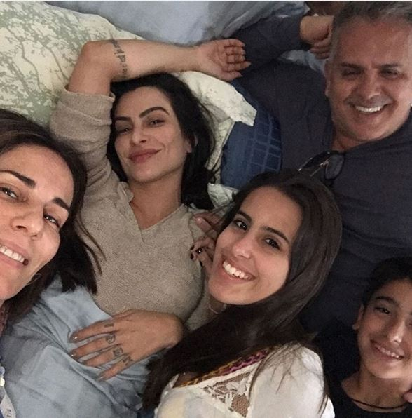 Glória Pires e família (Foto: Instagram / Reprodução)