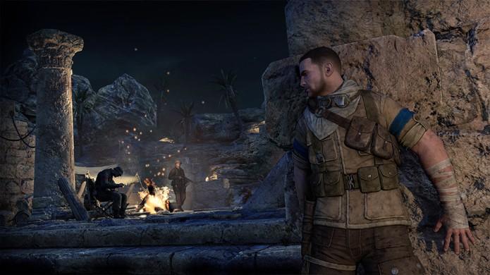 Se esconder em Sniper Elite 3 é essencial para a sobrevivência (Foto: Divulgação)