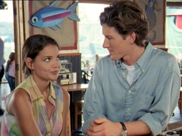 Katie Holmes e Ian Bohen como Joey e Anderson em cena de 'Dawson's Creek'  (Foto: Reprodução)