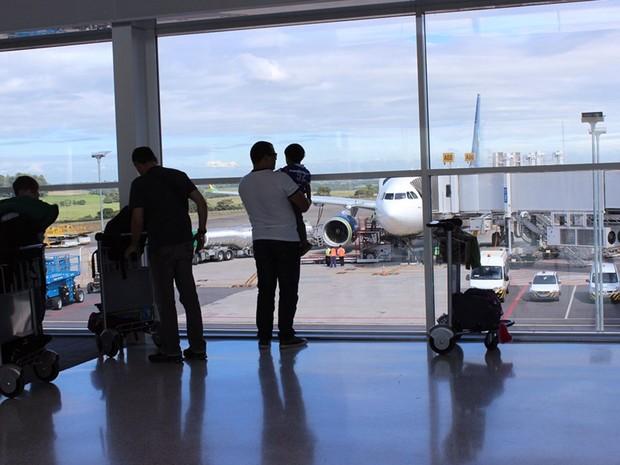 Área de Embarque do Aeroporto de Viracopos, em Campinas (Foto: : Tatiana Balachova/Aeroporto Internacional de Viracopos)
