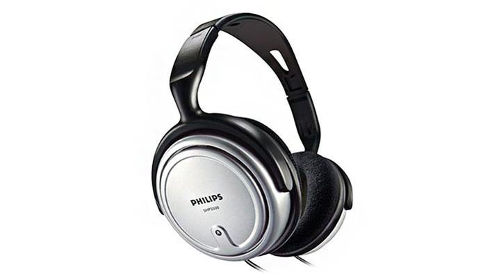 Fone de ouvido estéreo SHP2500 com conchas amplas (Foto: Divulgação/Philips)