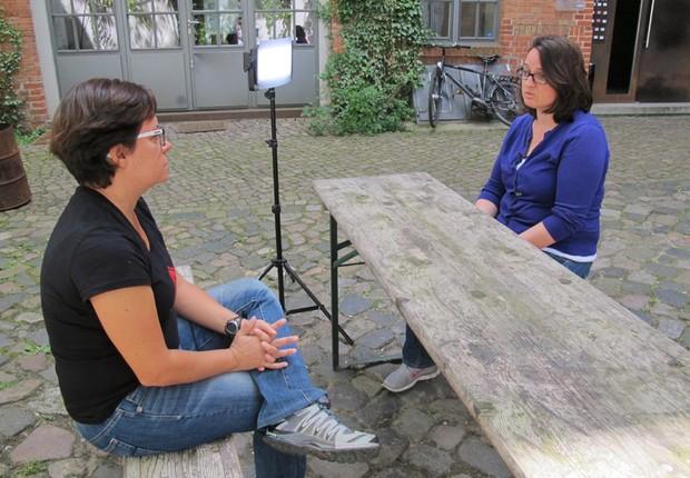 Maren Lesche, responsável por desenvolvimento de negócios na etventure Startup Hub (Foto: The Girls on the Road)