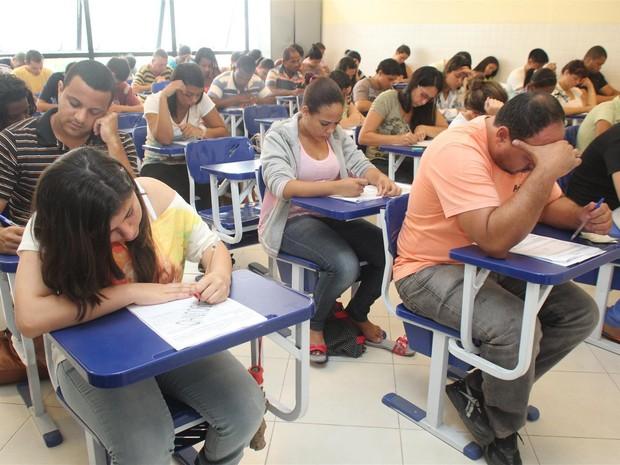 Mais de 2 mil candidatos concorrem a uma das 660 vagas oferecidas. (Foto: Camilo Mota/ Ascom)