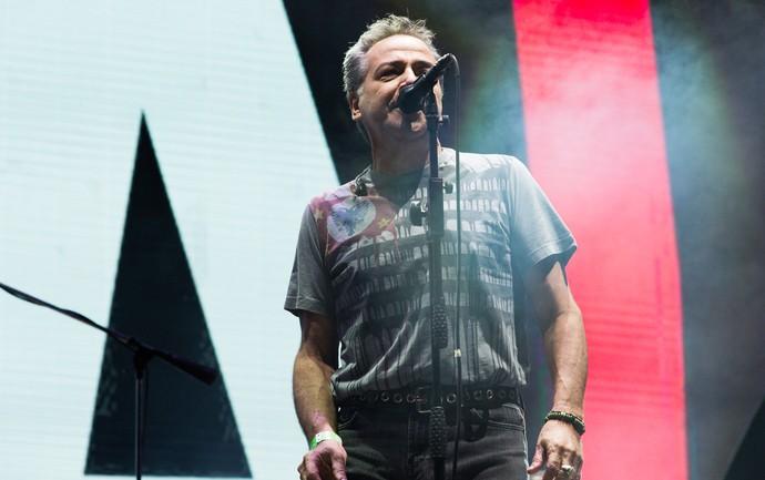 Nasi canta no palco que faz homenagem aos 15 anos do festival João Rock (Foto: Érico Andrade/Gshow)