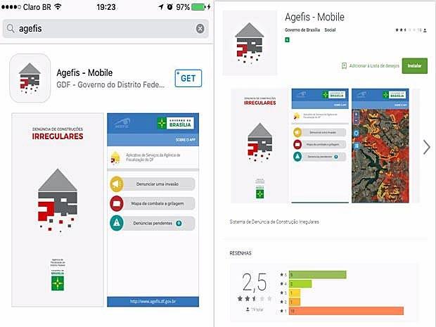Tela do aplicativo, que pode ser encontrado para os sistemas operacionais iOS e Android (Foto: Google/Apple/Reprodução)
