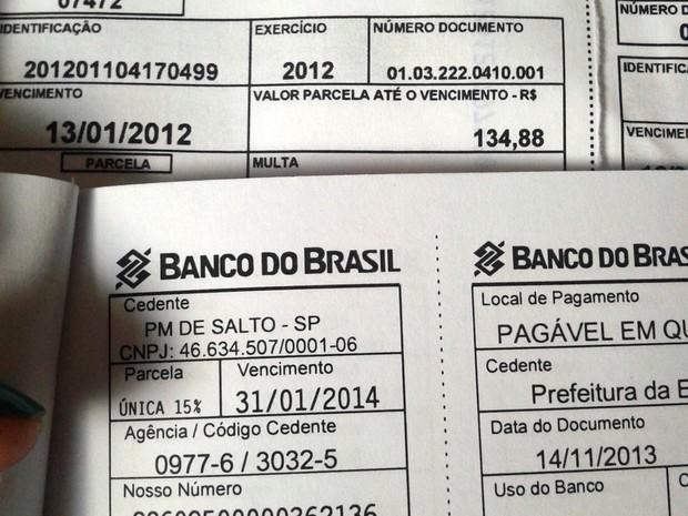 Moradora de Salto terá que pagar quase 600% a mais no valor do IPTU de seu terreno neste ano (Foto: Dilma Fagundes/Tem Você)