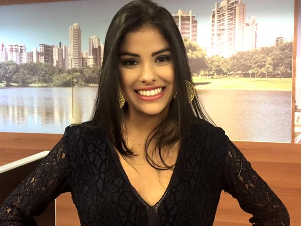 Munik afirma que quer investir prêmio em algo que dê bom retorno a ela, em Goiás (Foto: Murillo Velasco/G1)
