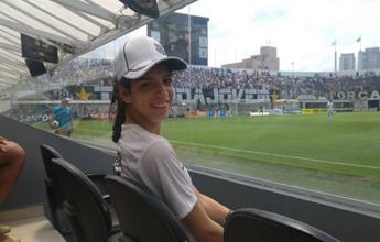 BLOG: Campanha na web faz torcedora especial assistir ao Santos na Vila pela primeira vez