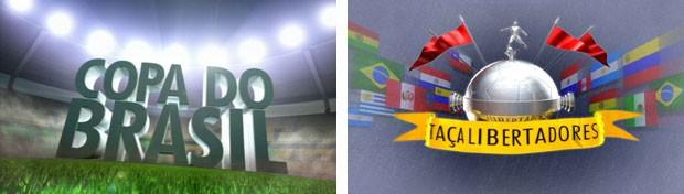 Copa do Brasil e Libertadores (Foto: Divulgação/RPC TV)