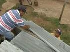 Vítimas de fortes chuvas recebem 1,8 mil telhas em municípios de MS