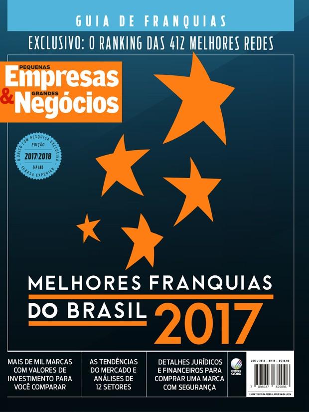 Capa do Guia de Franquias 2017/2018 (Foto: Editora Globo)