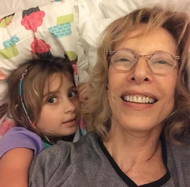 Marília Gabriela e a neta, Valentina (Foto: Reprodução/Instagram)