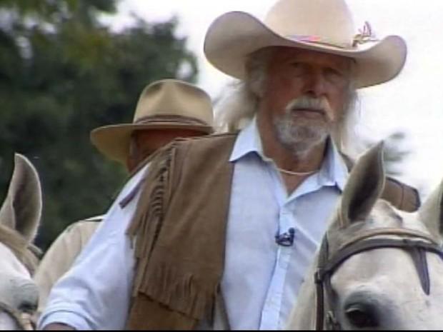 Jorge Dias Aguiar morreu aos 85 anos em São Carlos após não resistir à cirurgia (Foto: Reprodução/EPTV)