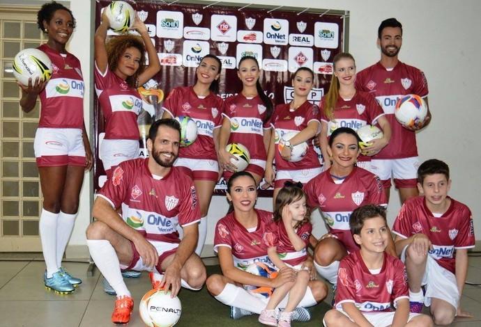 CAP, Clube Atlético Patrocinense, Patrocínio, Uniforme 1, 2016 (Foto: CAP/Divulgação)