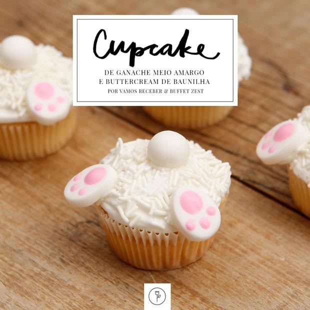 Páscoa imperdível: cupcake com ganache