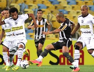 Emerson Sheik no jogo Botafogo x Ceará Copa do Brasil (Foto: Vitor Silva / SS Press)