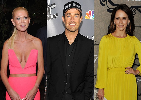 Tara Reid, Carson Daly, Jennifer Love-Hewitt (Foto: Getty Images)