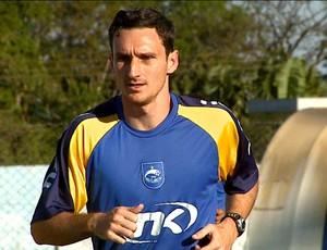 Atacante Alex Afonso do Rio Claro (Foto: Reprodução/ EPTV)
