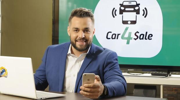 Daniel Côrrea, da Car4Sale (Foto: Divulgação)