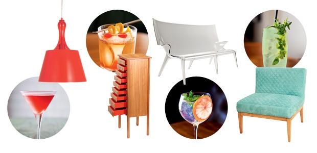 Drinques inspiram décor (Foto: Flare fotografia e divulgação)