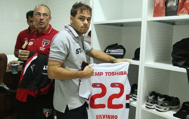 Silvinho São Paulo (Foto: Rubens Chiri / saopaulofc.net)