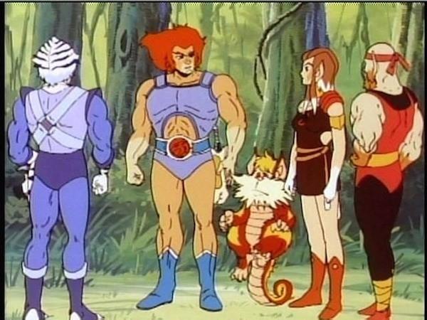 Os personagens do desenho Thundercats (Foto: Reprodução)