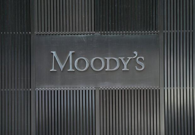 Sede da agência de classificação Moody's em Nova York (Foto: Emmanuel Dunand/AFP/Getty Images)