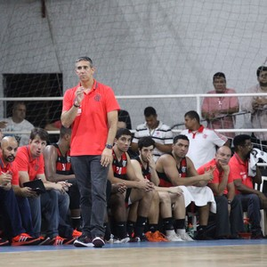 José Neto Flamengo basquete (Foto: Gilvan de Souza/Flamengo)