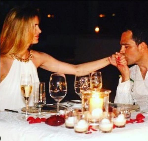 Luciano Camargo com a mulher (Foto: Reprodução/Instagram)