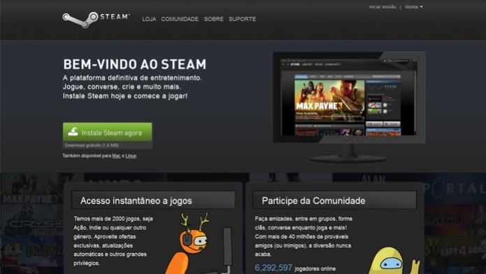 Steam (Foto: Reprodução/ Steam)