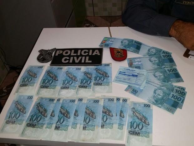 Dupla criminosa foi presa no município maranhense de Grajaú. (Foto: Divulgação/ Polícia)