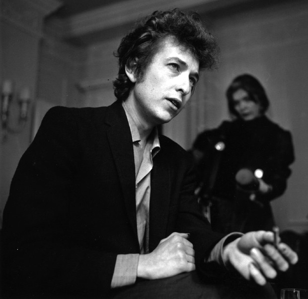 Bob Dylan em 1965, ano da gravação de 'Like a Rolling Stone' (Foto: Getty Images)