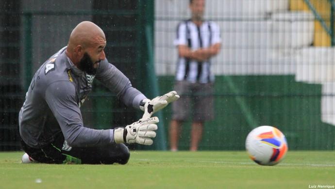 alex goleiro figueirense (Foto: Luiz Henrique / FFC)