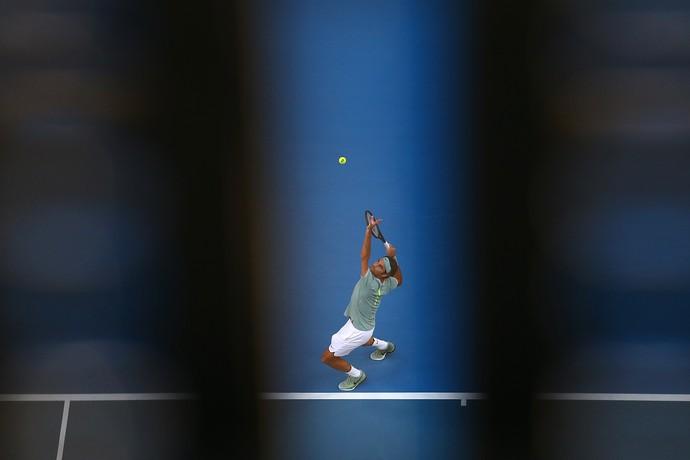 Federer vence Daniel Evans na Copa Hopman (Foto: Getty Images/Paul Kane)
