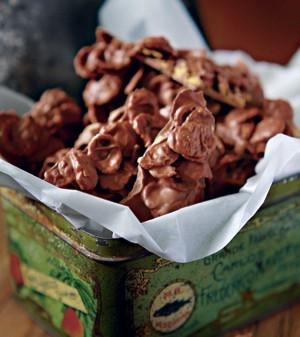 Lascas de chocolate (Foto: casa e comida)
